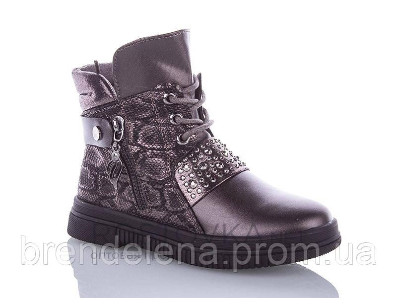 Ботинки детские для девочки Y.TOP р27-32 (код1020-00) 28