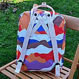 Модный женский рюкзак-сумка канкен Fjallraven Kanken classic 16 л камуфляж, фото 6