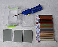 Набор для реставрации мебели , сколов плитки, царапин ламината Repair Kit №1A
