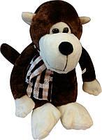 Мягкая игрушка обезьяна (с шарфиком)