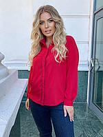 Женская блузка большого размера.Размеры:50/54.+Цвета, фото 1