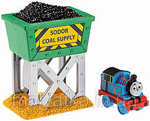 Паровозики  FISHER PRICE Thomas and Friends серии Take-n-Play Thomas the Train Coal Hopper Launcher