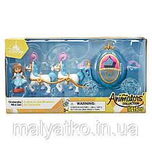 Кукла Золушка мини аниматор с каретой Littles Cinderella Mini Animators