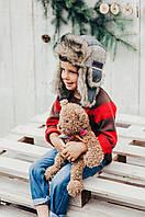Детская шапка зимняя для мальчиков МУРАТ  оптом размер 50-52-54, фото 1