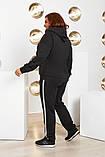 Спортивный костюм двойка батник и штаны размер батал: 52-54, 56-58, 60-62, фото 7