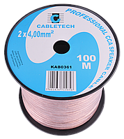 Кабель акустический Cabletech KAB0361    2x4,0mm