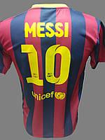 Футбольная футболка Messi Barcelona мужская  Турция