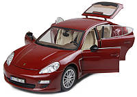 Машинка р/у 1:18 Meizhi лиценз. Porsche Panamera металлическая (красный)