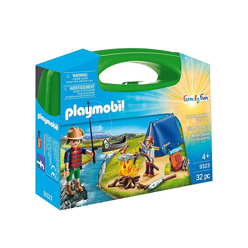 """Игровой набор в кейсе """"Туристический поход"""" Playmobil (4008789093233)"""