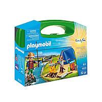 """Игровой набор в кейсе """"Туристический поход"""" Playmobil (4008789093233), фото 1"""