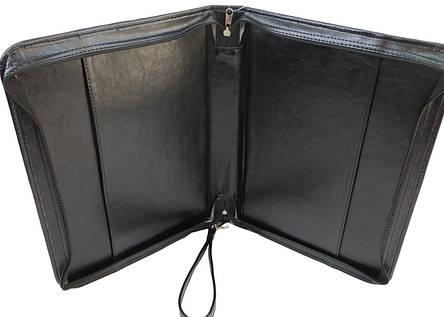 Папка для документов из кожзама Exclusive 712000-1 черный, фото 2