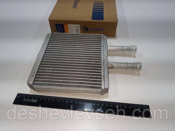Радиатор ОТОПИТЕЛЯ AVEO (b=182) (алюм-паяный) (LRh CHAv05342), 96539642 (ЛУЗАР)
