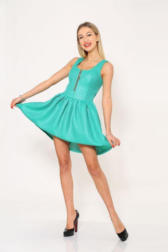 Платье женское 104R061 цвет Ментол