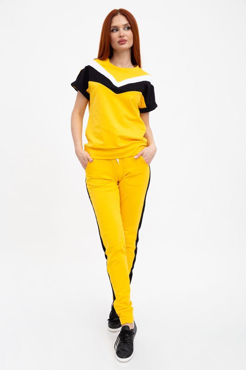 Костюм женский 102R048 цвет Желтый