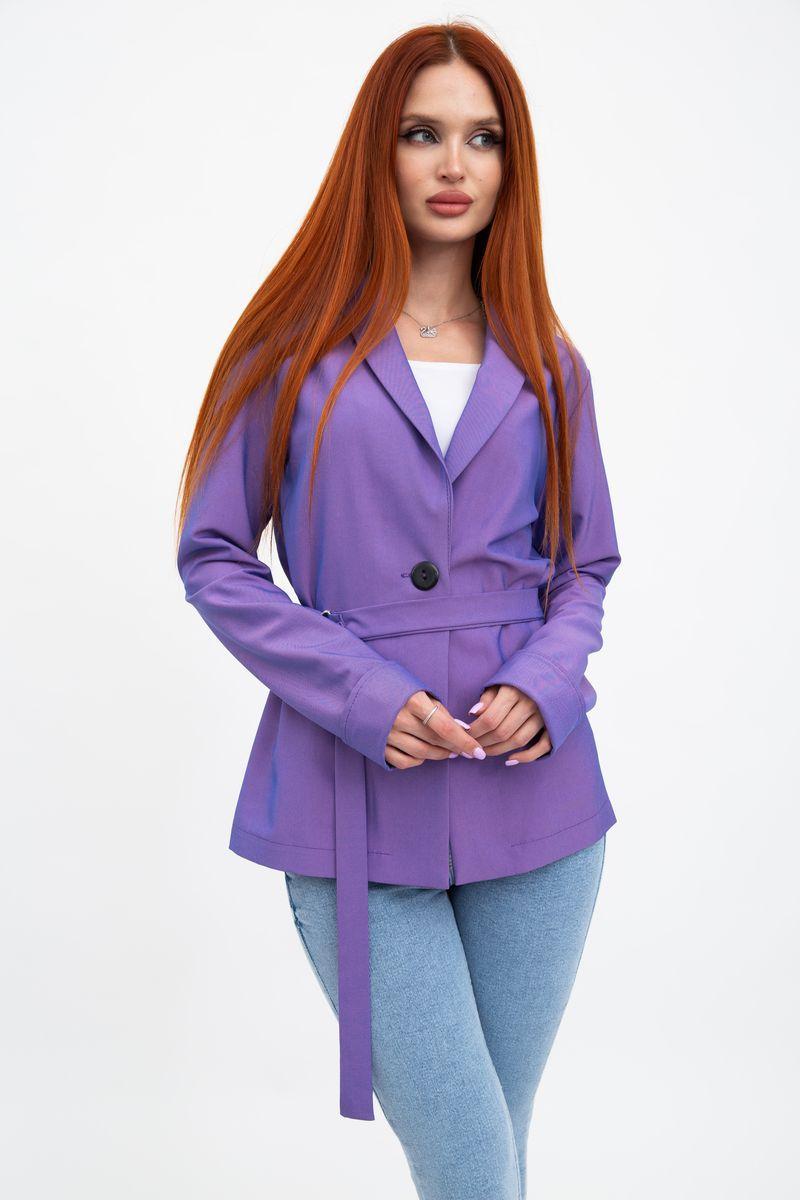 Пиджак женский 115R363-5 цвет Фиолетовый