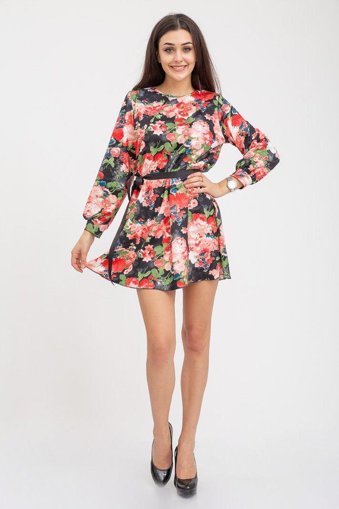 Платье 115R395V цвет Черно-красный