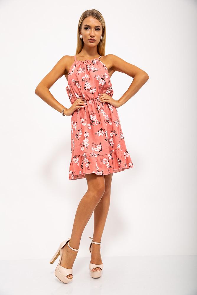 Платье 115R408-2 цвет Пудровый