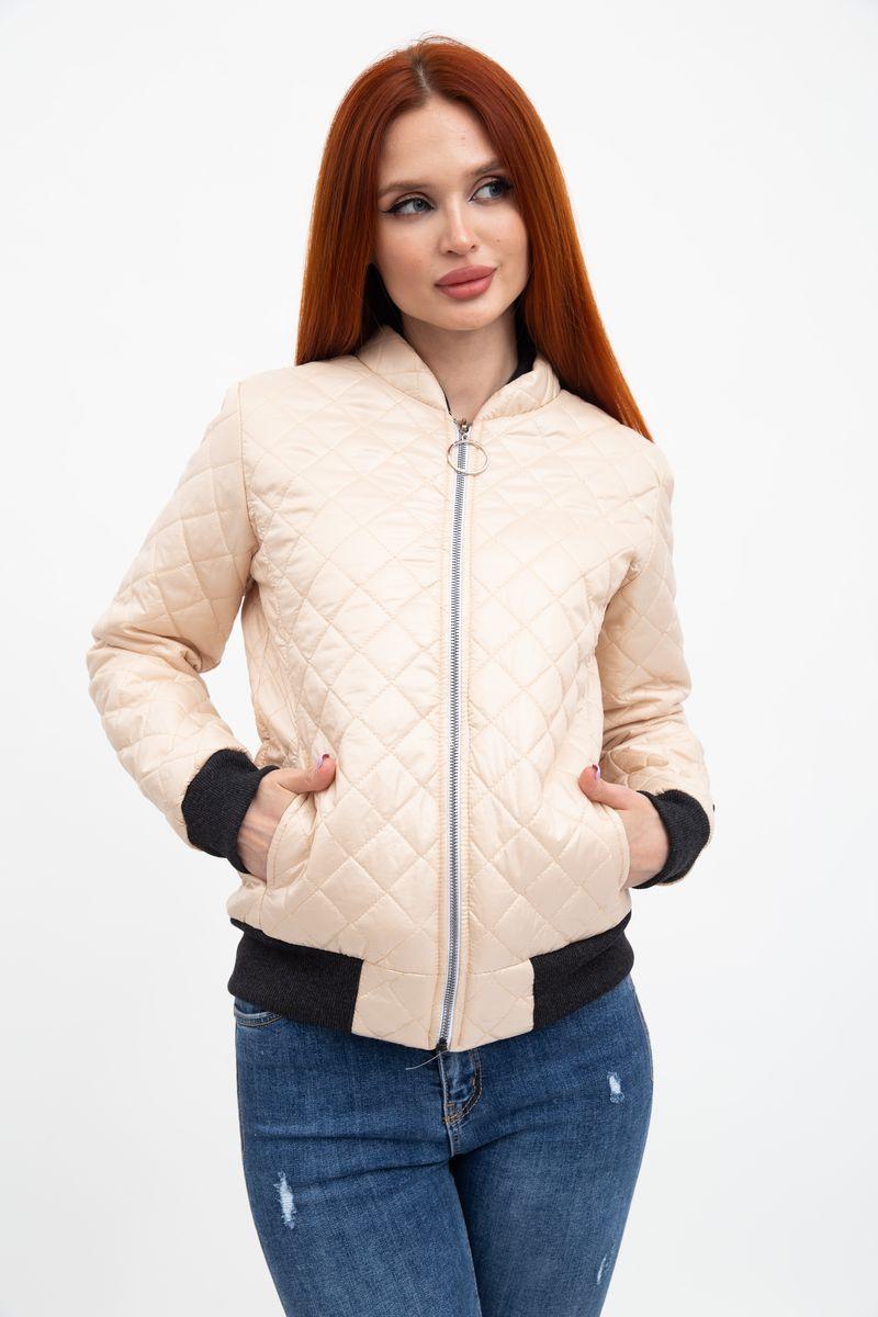 Куртка женская 102R042 цвет Бежевый