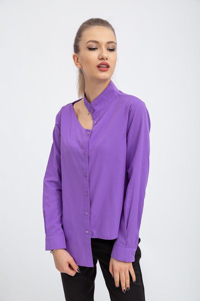 Блуза женская 103R0825 цвет Фиолетовый