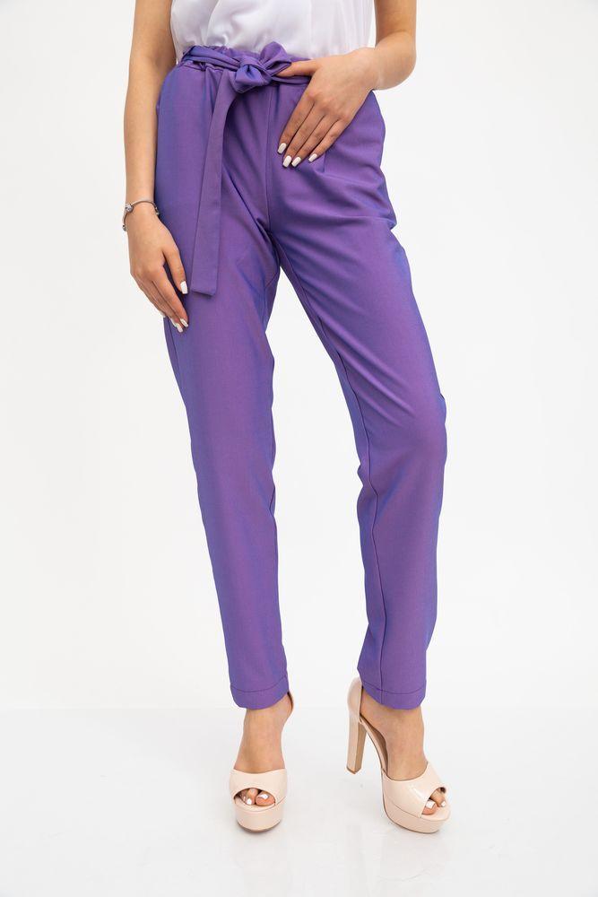 Брюки женские 115R366R цвет Фиолетовый