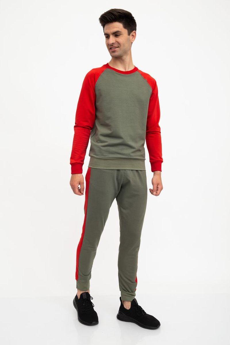 Спорт костюм мужской 102R039 цвет Хаки