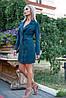 Платье-жакет 102R080 цвет Темно-зеленый, фото 2