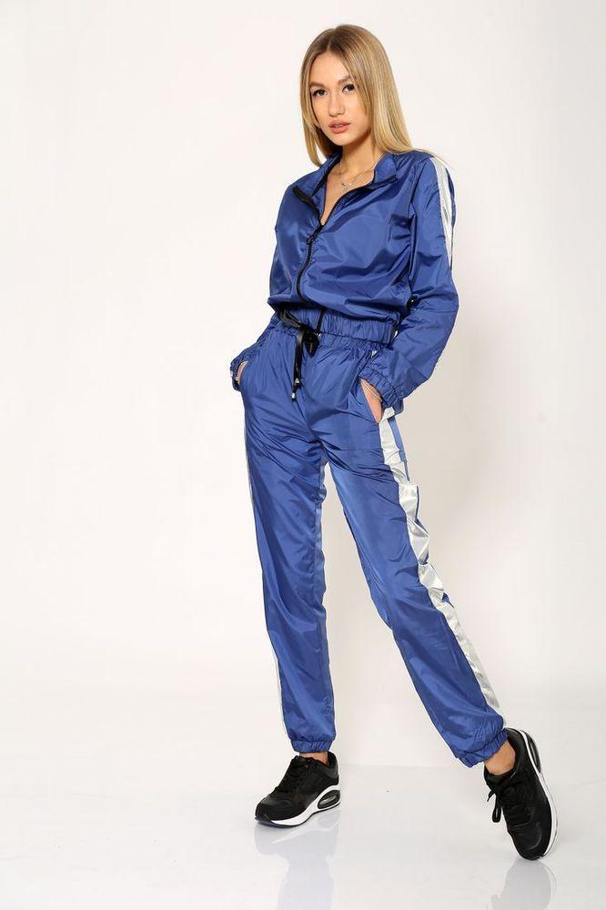 Спорт костюм женский 103R069 цвет Синий