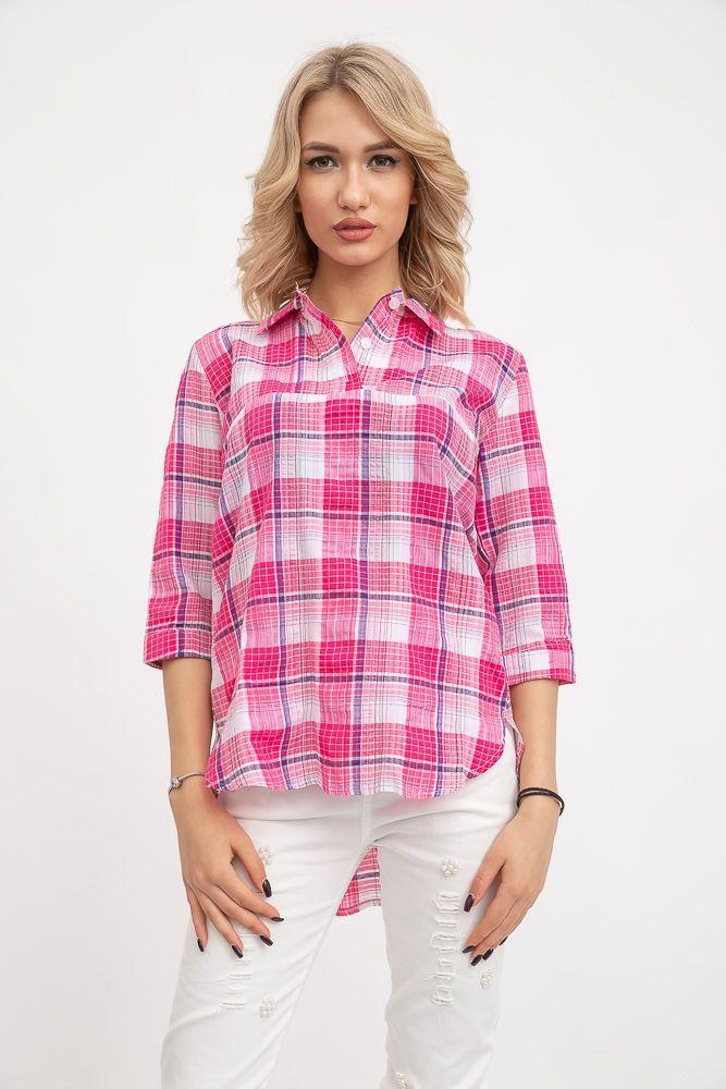 Блуза 115R220-4 цвет Розово-белый