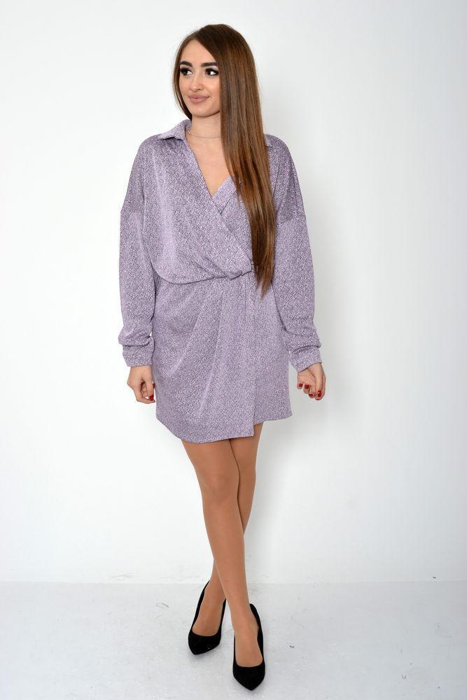 Платье женское 115R361B цвет Сиреневый