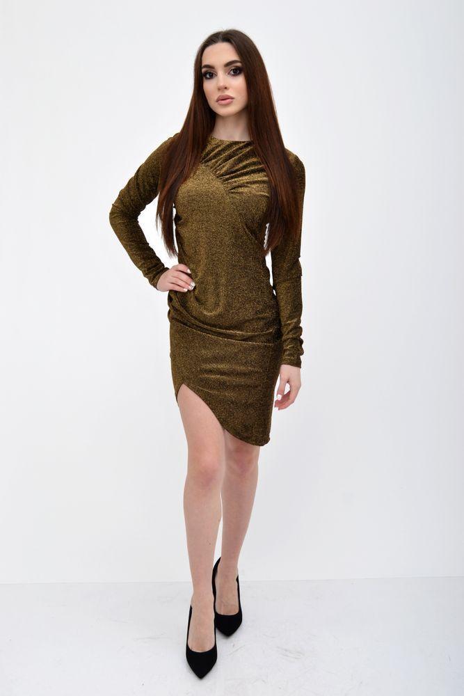 Платье женское 115R352 цвет Золотистый