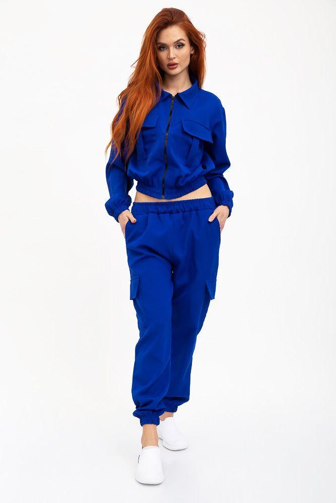 Спорт костюм женский 103R1010 цвет Электрик