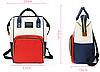 Рюкзак для мам, женский, городской, 7 цветов, фото 8
