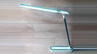 Настольная лампа светодиодная Luxel TL-07G, 220-240V, 9W, IP20, мятная