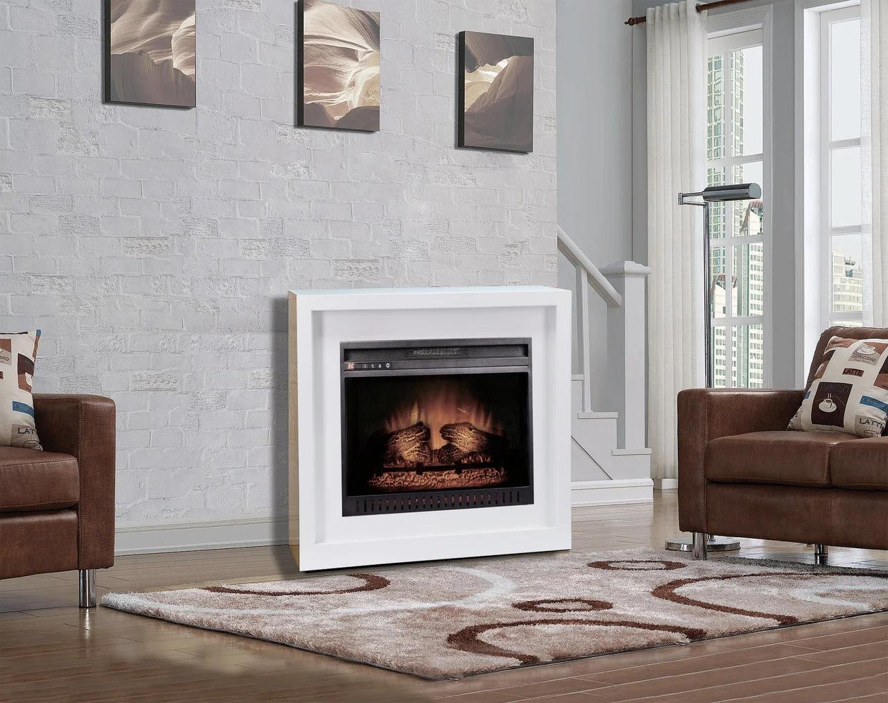 Современный каминокомплект ArtiFlame Bronx AF 26 с 3D имитации пламени и инфракрасного обогрева