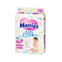 Подгузники Merries M (6-11 кг) 64 шт