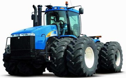 Чип-тюнинг V-tech Power Box трактор New Holland TJ380 - 12.9 V6