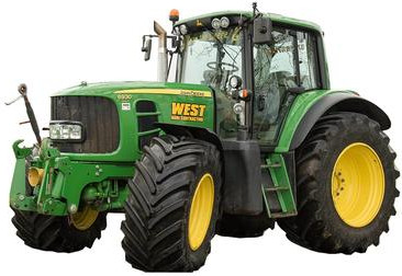 Чип-тюнинг V-tech Power Box трактор John Deere 6830 - 6.8 V6