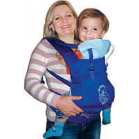0313_802 Эрго рюкзак-кенгуру Baby Breeze красный