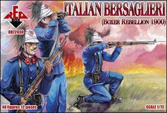 Italian Bersaglieri, Boxer Rebellion 1900