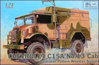 "Сборная модель  ""Chevrolet C15A No.13 Cab Australian Pattern Wireless / """