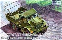 """Сборная модель  """"Военный грузовик Chevrolet C15A No.11 с кабиной общего обслуживания """""""