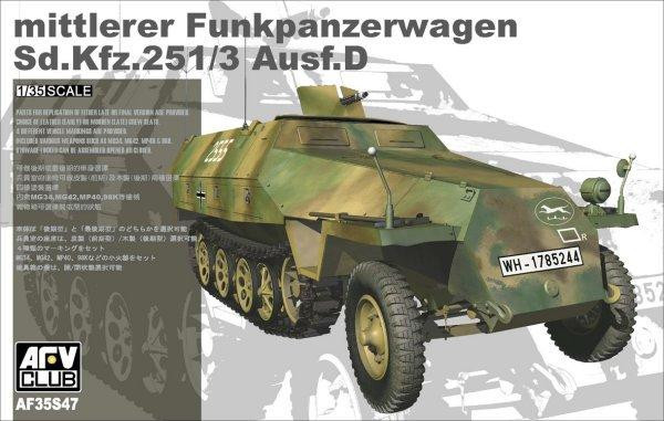 "Сборная модель  ""Sd.Kfz 251 Ausf. D 2 out of 1 (LIMITED) """
