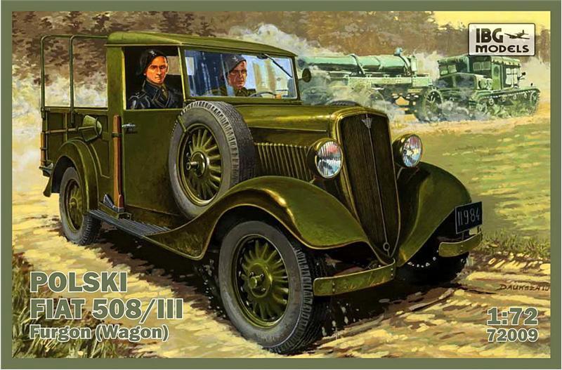 """Сборная модель  """"Польский Fiat 508/III (универсал) """""""