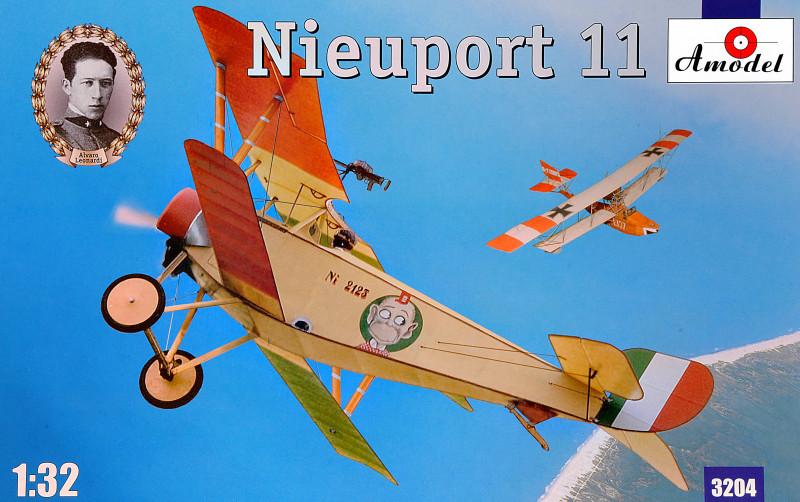 """Сборная модель """"Nieuport 11 (Italy)"""""""
