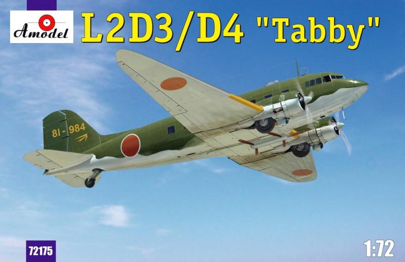 """Сборная модель """"Модель транспортного самолета L2D3/D4 """"Taddy"""""""""""