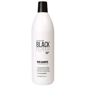 Укрепляющий шампунь для волос Inebrya Balck Pepper Iron Shampoo 1000 мл