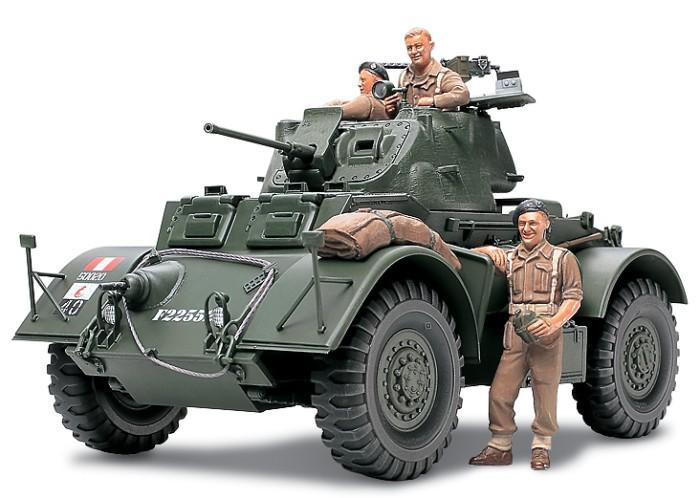 """Сборная модель  """"Бронеавтомобиль Starhound Mk.I(Italeri) с фототравлением и книжкой-описанием прототипа """""""