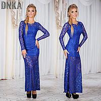 Платье гипюровое №с410 (ГЛ)