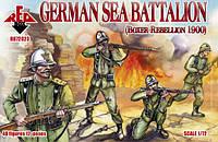 German sea battalion, Boxer Rebellion 1900