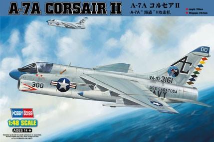 "Сборная модель ""A-7A Corsair II"""